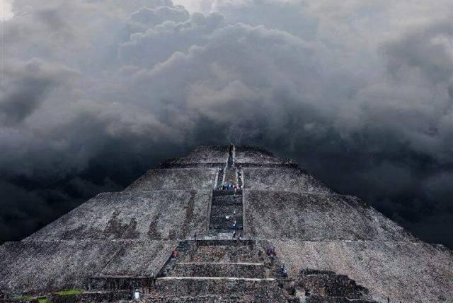 Pyramid Of Teotihuacan