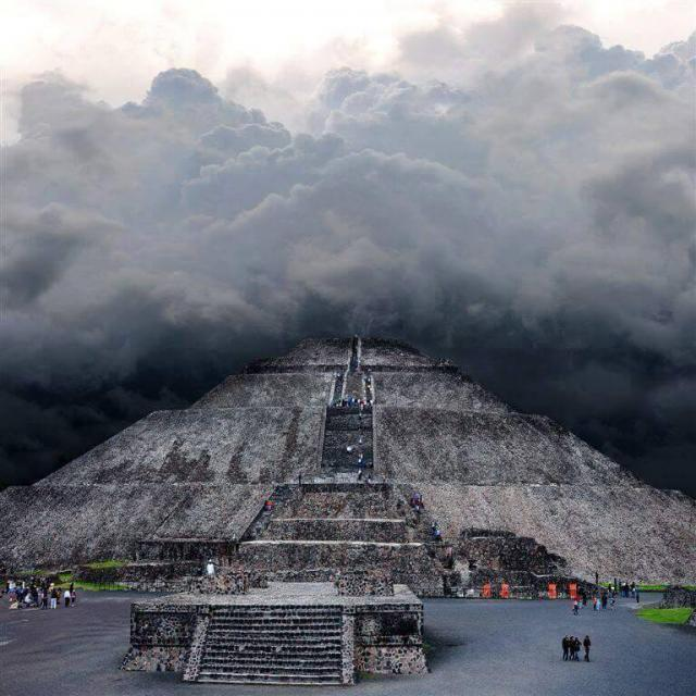 What is a Radioactive Insulator Doing in the Pyramids Of Teotihuacan?